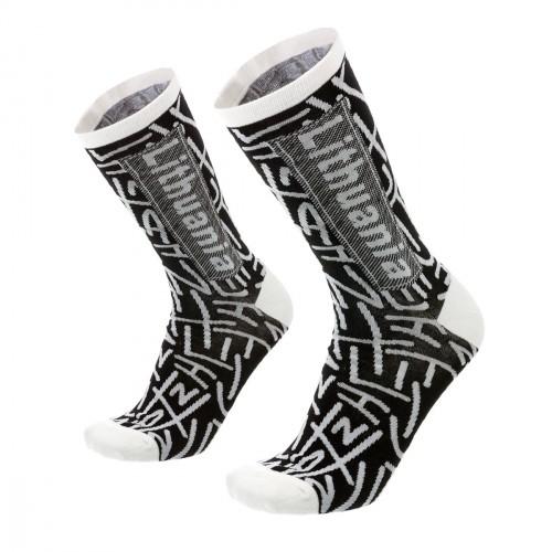 Men's black/white socks Lithuania size:(41-46)