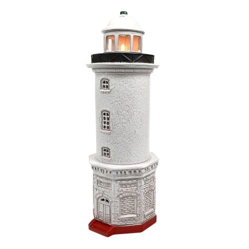 Hand made ceramic lighthouse candle holder - Užavas Latvia