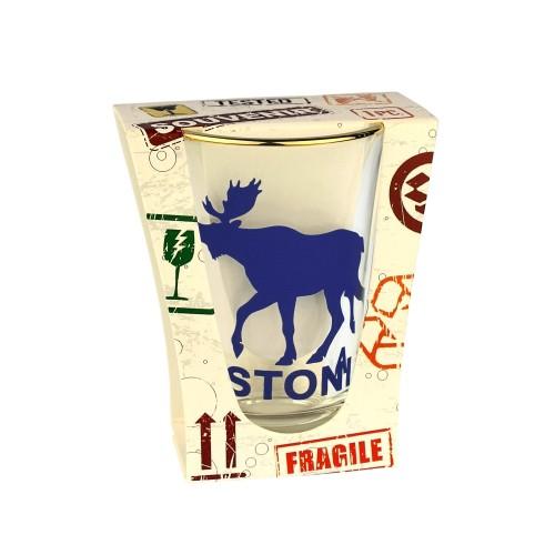 Shot glass Estonia Moose
