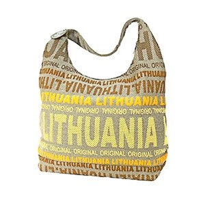Big canvas bag - Robin Ruth Light Yellow