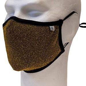 Gold glitter face mask Robin Ruth