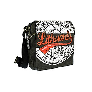Unisex canvas bag LITHUANIA Wanted - Robin Ruth
