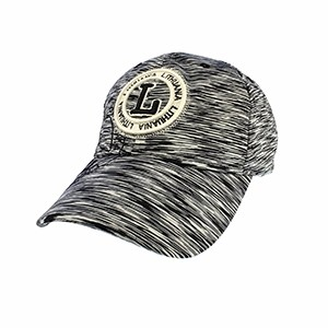 Speckled  sport style cap Lithuania gray color