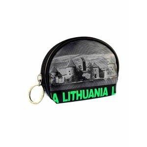 Coin wallet Lithuania City Face