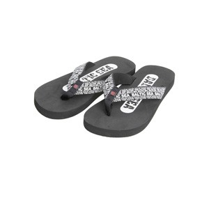 Black man flip flops - Baltic Sea