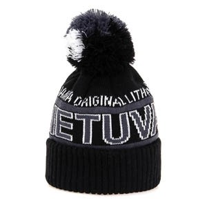 Short winter hat LIETUVA - Robin Ruth Black