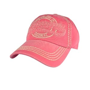 Fuchsia denim cap
