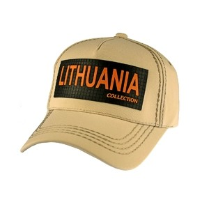 Beige color cap Lithuania Collection - Robin Ruth