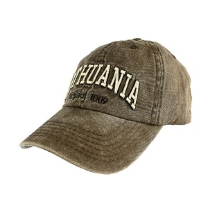 Brown color vintage looks baseball cap Lithuania Original 1009