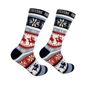 Men socks with elks Amsterdam Size:(40-45)