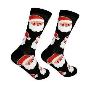 Men Christmas socks with Santa, size:(41-46)