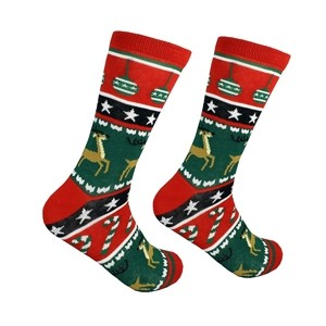 Christmas men's socks, size:(41-46)