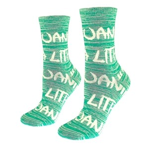 Cotton socks for women green color Lithuania size:(36-42)
