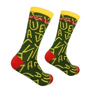 Men's green socks Lithuania, size:(41-46)