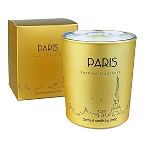 """Fashion fragrance - Scented candle """"PARIS"""" 75 h"""