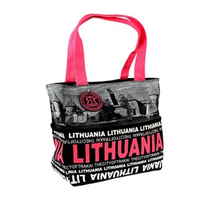 City Face small bag LITHUANIA - Robin Ruth