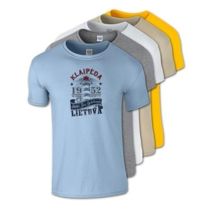 Cotton T-Shirts Klaipėda Baltic Sea Lighthouse