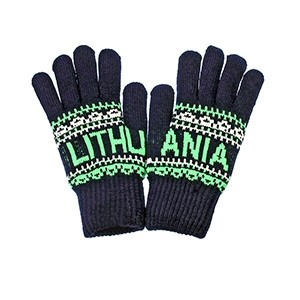 Blue color winter gloves Lithuania - Robin Ruth