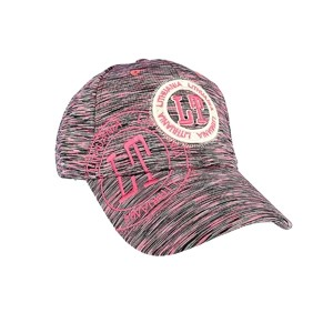 Sport style speckled cap Lithuania LT fuchsia color