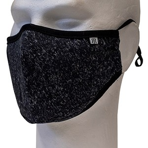 Grey Melange face mask Robin Ruth