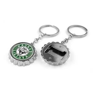 Bottle stopper shape metal key chain - bottle opener Kaunas 1361