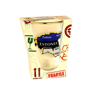 Shot glass Estonia