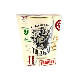 Shot glass Trakai Knight