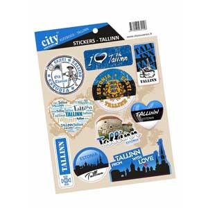 Stickers set - Tallinn