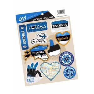 Stickers set - Estonia