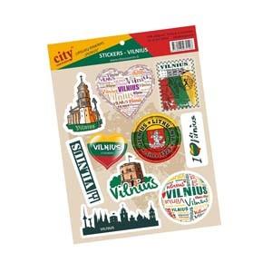 Stickers set - Vilnius