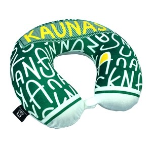 Kaunas memory foam travel neck pillow
