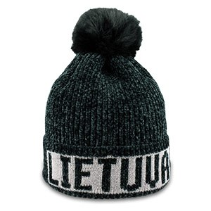 Black color short winter hat Lithuania - Robin Ruth