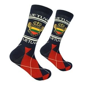 Navy Men's socks Lithuania size:(41-46)