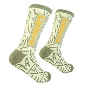 Men's gray socks Lithuania size:(41-46)
