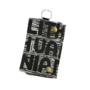 Sports style wallet with black letters Lithuania