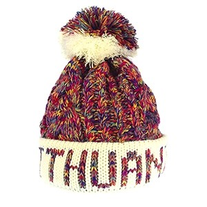 Short winter hat Lithuania, fuchsia - Robin Ruth