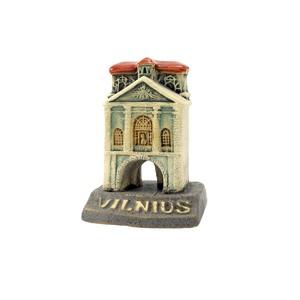 Handmade ceramic miniature The Chapel of the Gates of Dawn