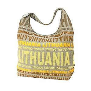 Big canvas bag - Robin Ruth Light Yellow