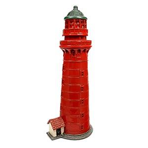 Hand made ceramic lighthouse candle holder - Kolkas Latvia