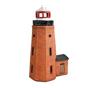 Hand made ceramic lighthouse candle holder – Ventės ragas Lithuania