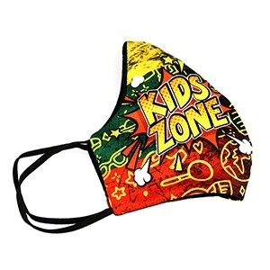 """Face cover mask """"Kids zone"""""""