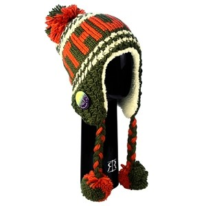 Winter hat Lithuania, chaki color - Robin Ruth