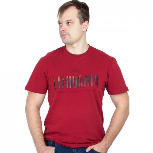 Bordo marškinėliai Feel Lithuania - Robin Ruth