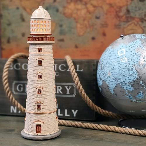 Rankų darbo keramikinis švyturys žvakidė – Chersonas Ukraina