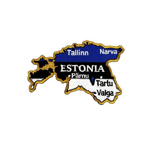 Antsiuvas - Estijos žemėlapis