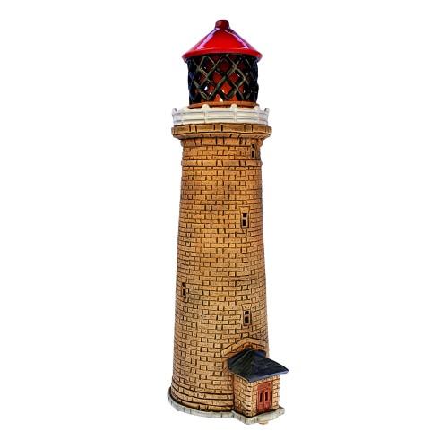 Rankų darbo keramikinis švyturys žvakidė – Fornaes Danija