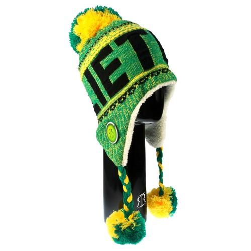 Žieminė kepurė su bumbulais LIETUVA - Robin Ruth