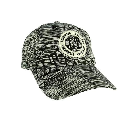 Sportinio stiliaus, kanapėta kepurė LT Lietuva, pilka