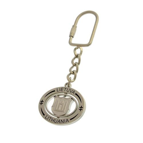 Metalinis raktų pakabukas Vytis / Gedimino stulpai
