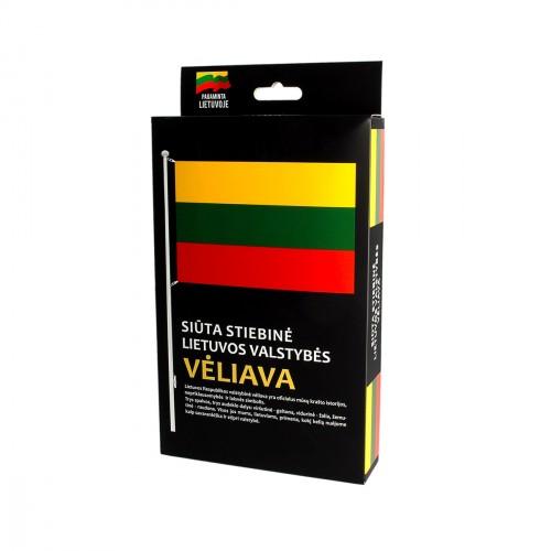 Siūta stiebinė Lietuvos valstybės vėliava